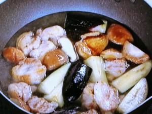 鶏肉とナスのみぞれ煮