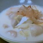 根菜のチーズ湯葉汁