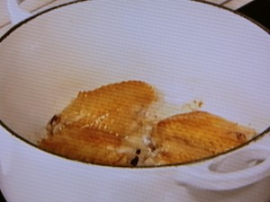 たたきれんこんと鶏手羽のポトフ