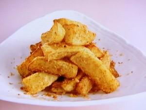 海老風味の七味ポテト