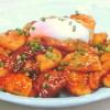 長芋&豚バラ肉の韓国風スタミナ炒め