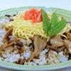 牛肉と舞茸のちらし寿司