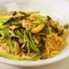 豚肉と小松菜のあんかけ焼きそば