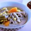 スペアリブとコーンのスープ